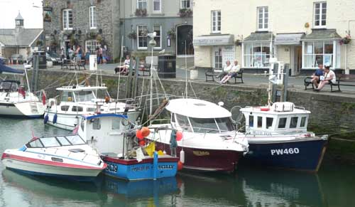 touring cornwall in a campervan - Padstow
