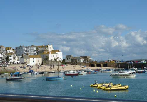 touring cornwall in a campervan - st ives
