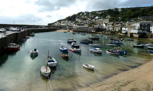 touring cornwall in a campervan - Mousehole