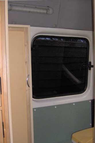 diy campervan bathroom