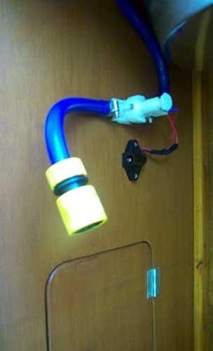 campervanfresh water system