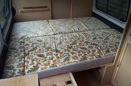 campervan pull out bed