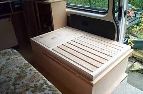campervan interior - diy campervan