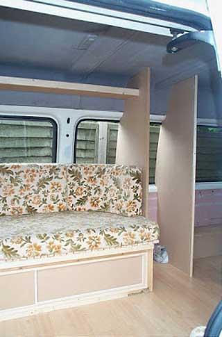campervan seating ideas