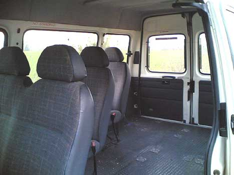 Ford Transit Campervan Conversion - for less than £500