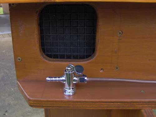 gas tap diy campervan
