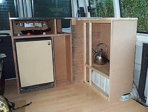 campervan conversion kitchen ideas