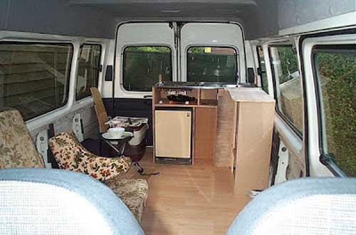 ford transit campervan conversion ideas