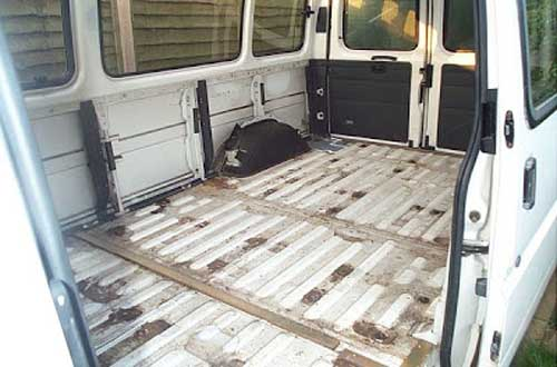 campervan flooring