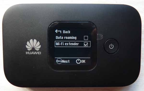 Huawei E5577C wifi extender on