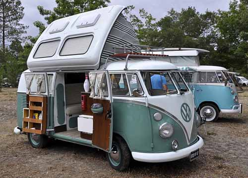 VW split screen campervan