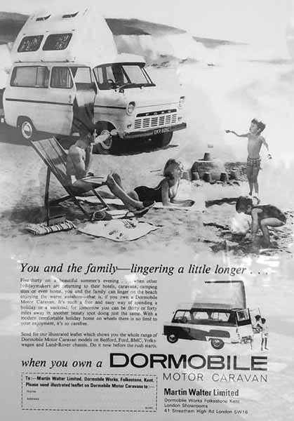 dormobile motor caravan