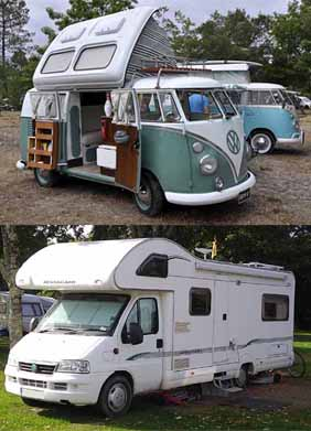 campervan and motorhome