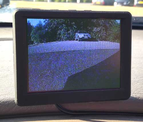 campervan reversing camera
